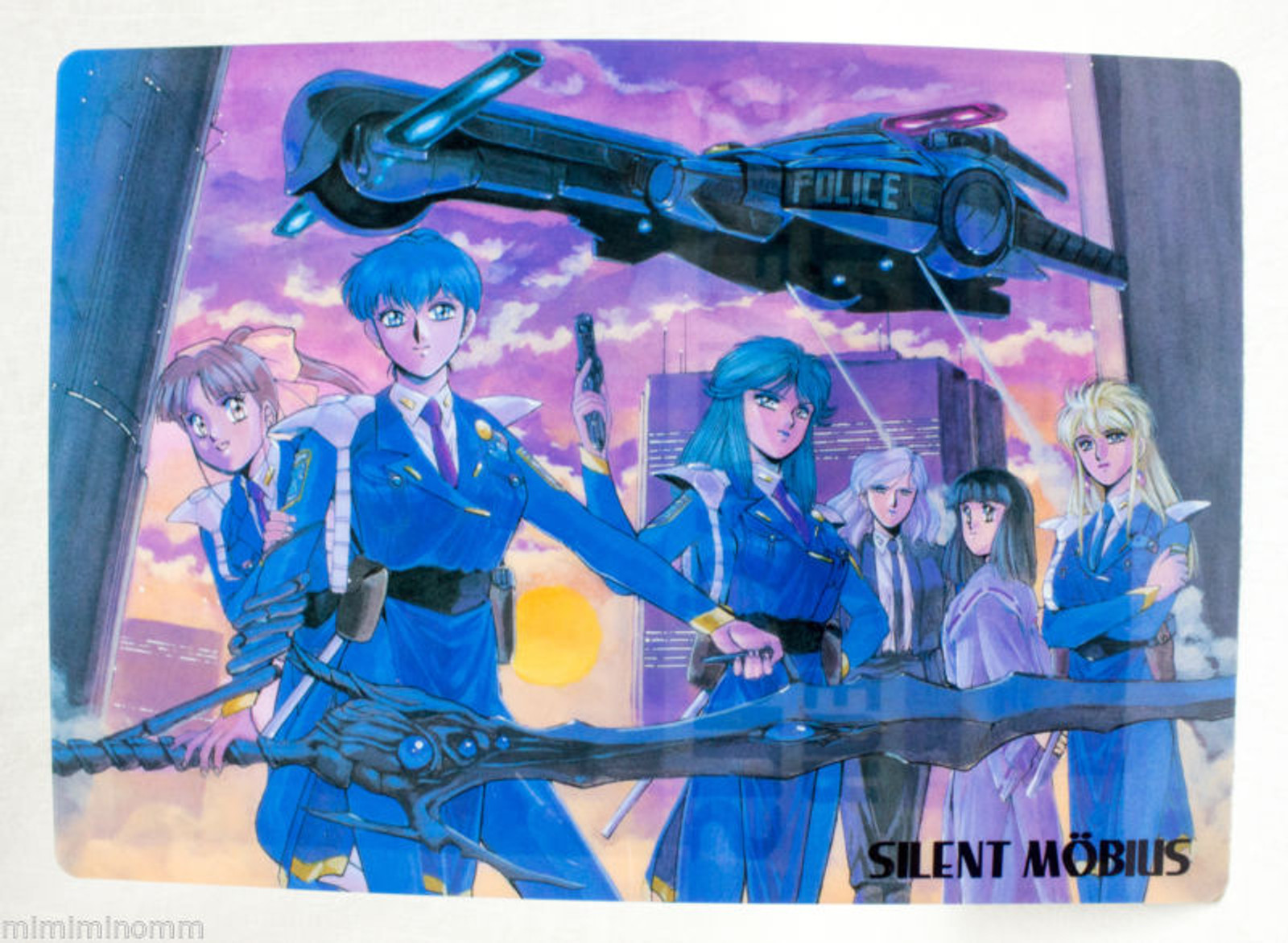 Silent Mobius Shitajiki Plastic Pencil Board Pad JAPAN ANIME MANGA 2
