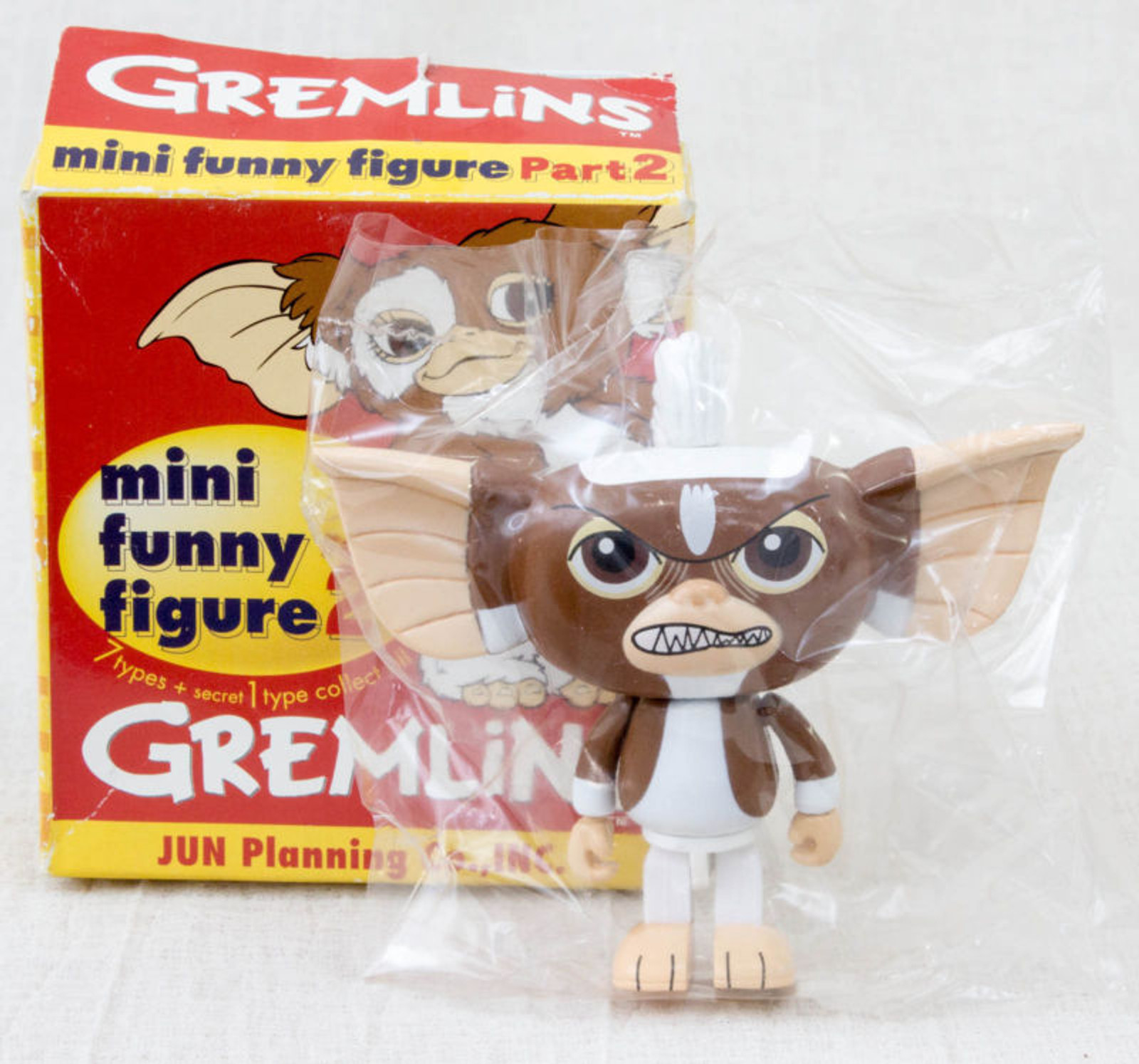 Gremlins 2 Jun Planning Mini Funny Figure Part.2 Stripe Ver. JAPAN