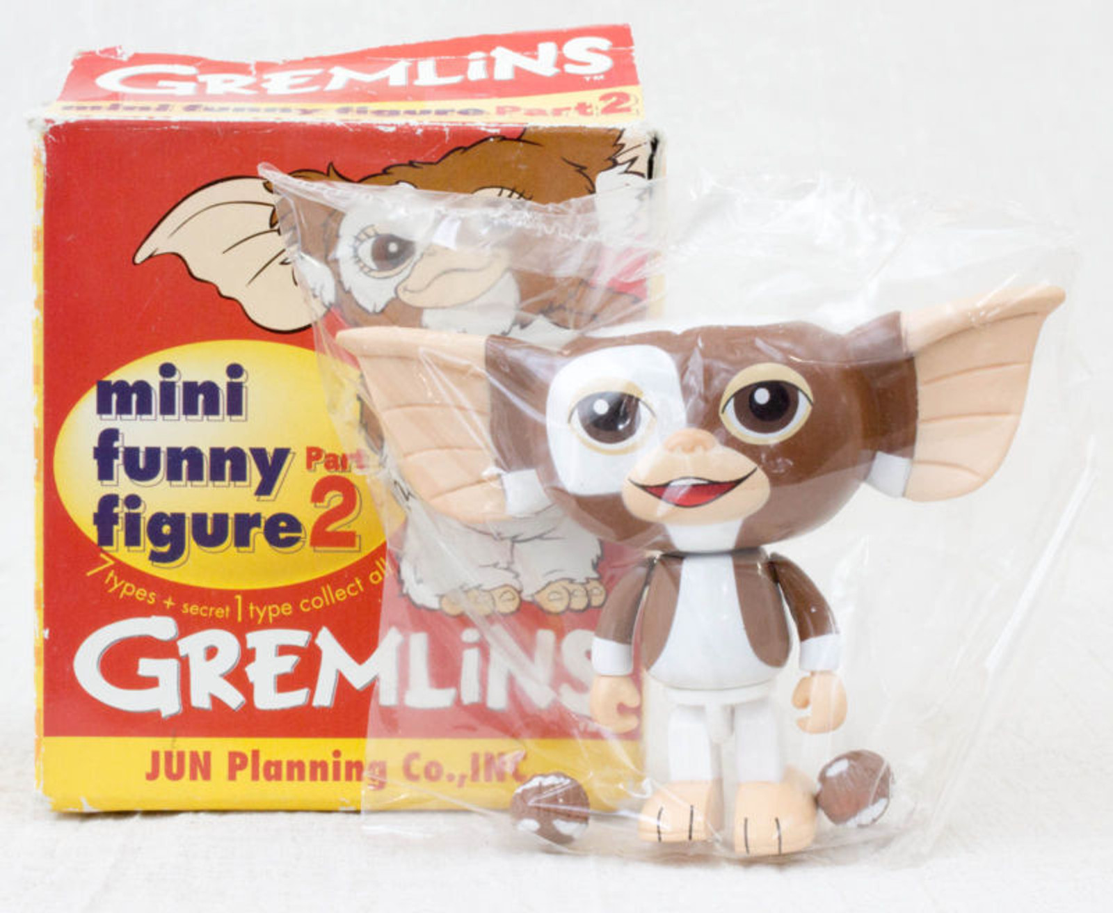 Gremlins 2 Jun Planning Mini Funny Figure Part.2 Gizmo Normal Ver. JAPAN