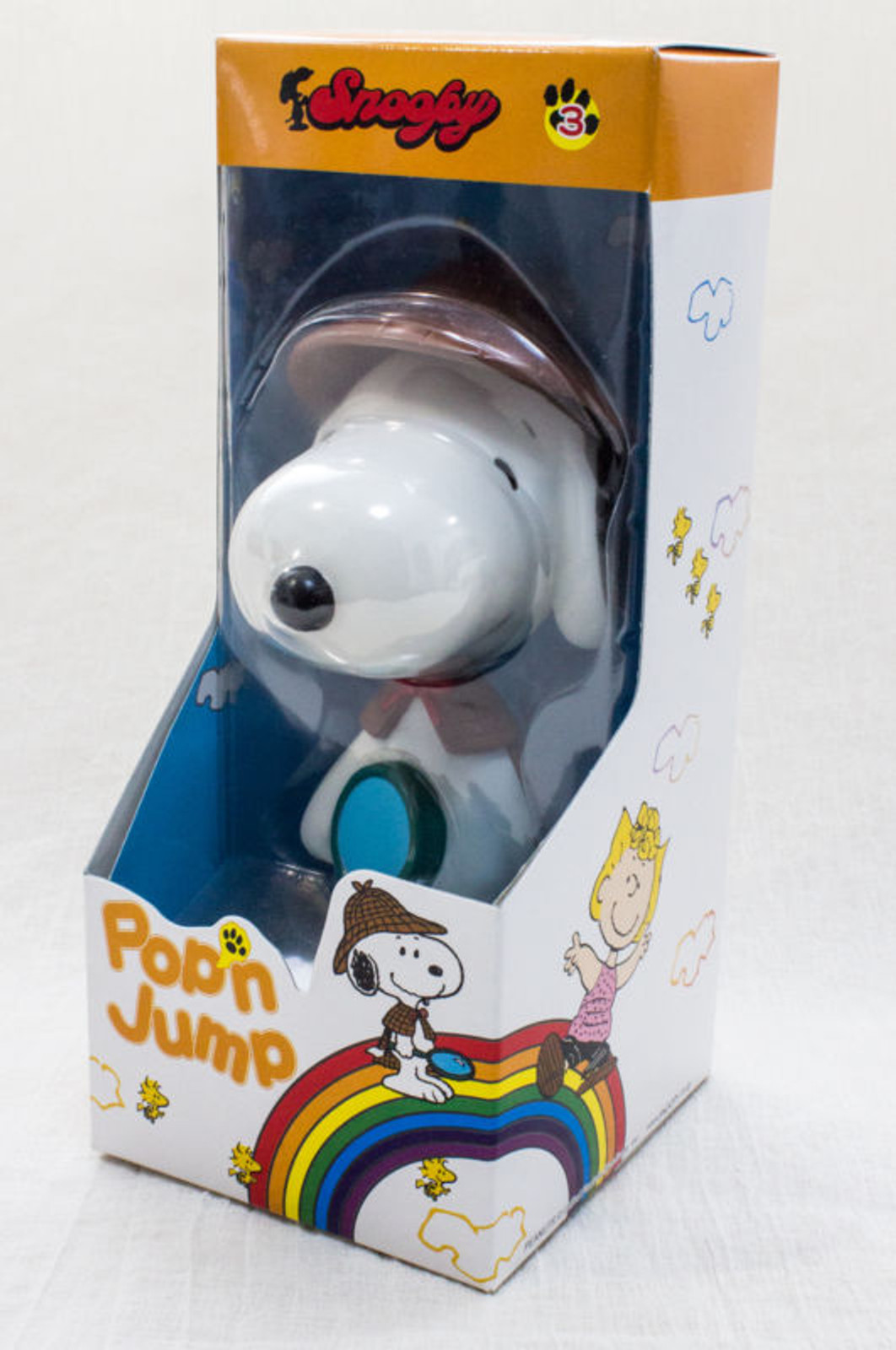 Snoopy Detective Pop'n Jump Figure La Chere Toy Peanuts JAPAN ANIME