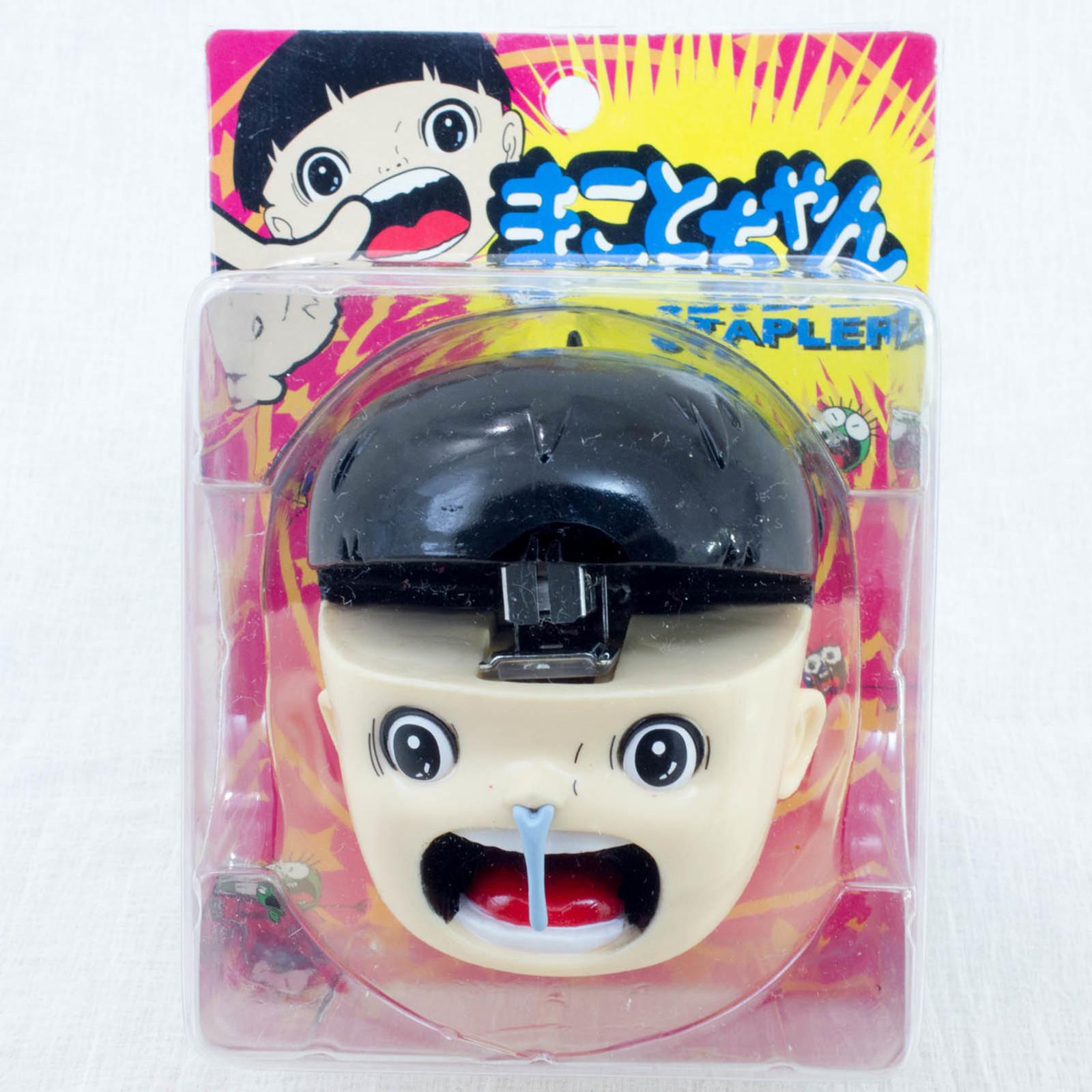 Makoto-Chan Face type Stapler Umezu Kazuo Guwashi JAPAN ANIME MANGA
