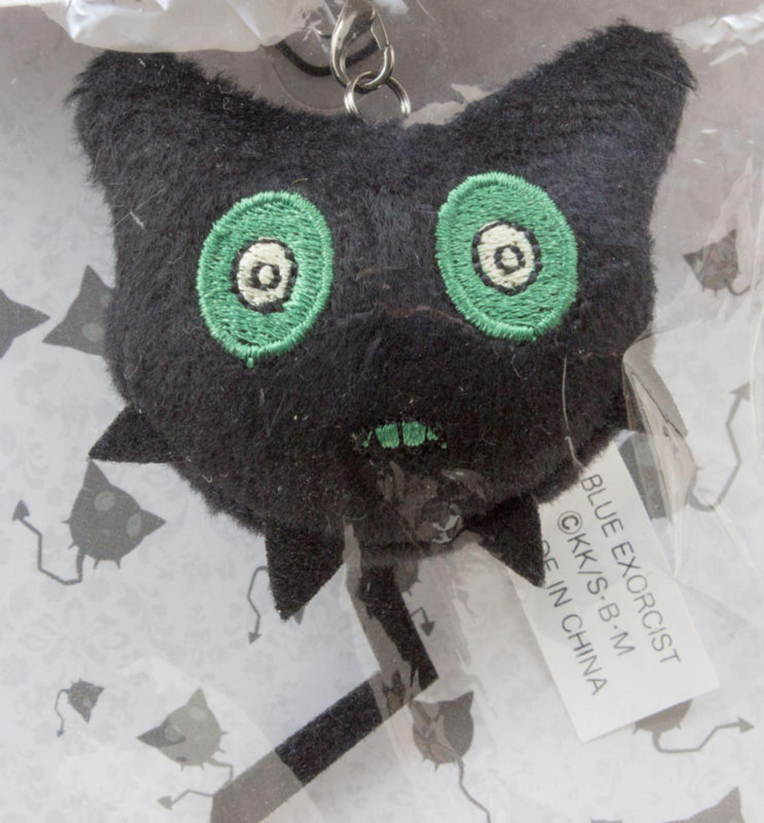 Blue Exorcist Akuma Coal Tar Plush Doll Figure Strap JAPAN ANIME MANGA