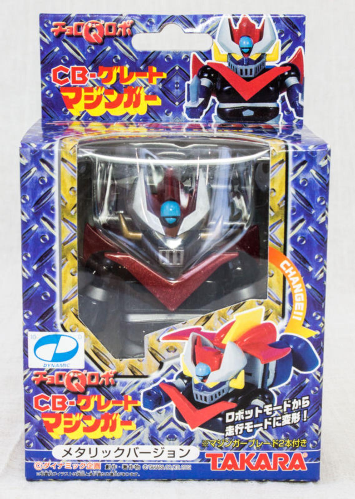 CB Great Mazinger Choro Q Robo Pull Back Car Figure Metallic Ver. TAKARA JAPAN