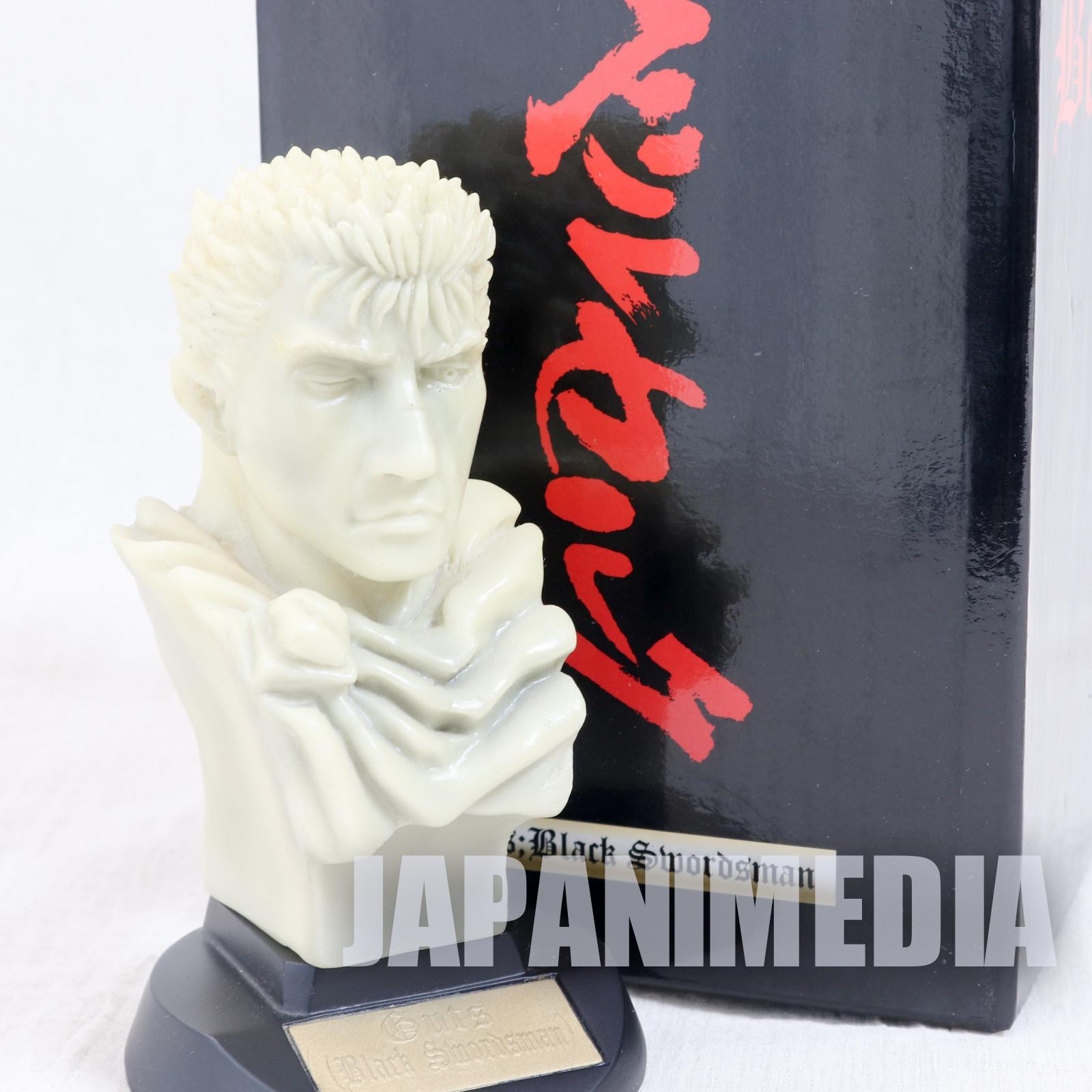 Berserk Guts Black Swordsman Bust Figure Marble Statue type Art of War JAPAN