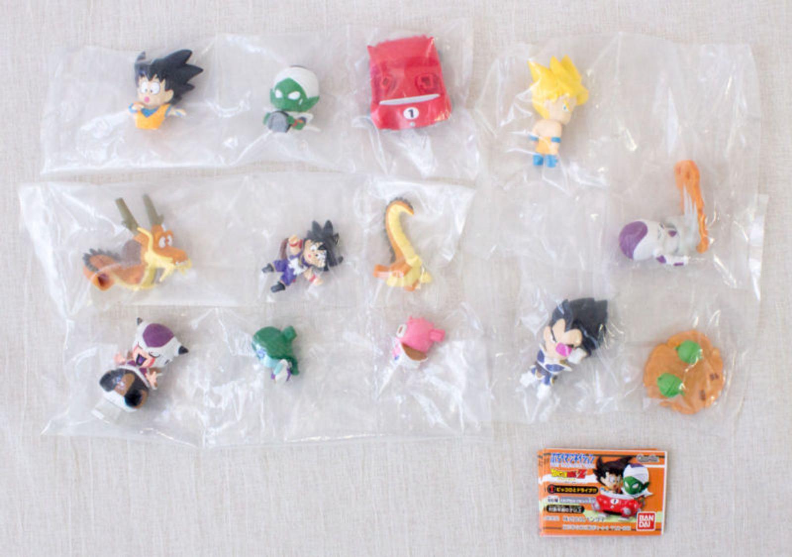 Bandai Anime Summon Night 3 Gashapon Figure Keychain Set of 5