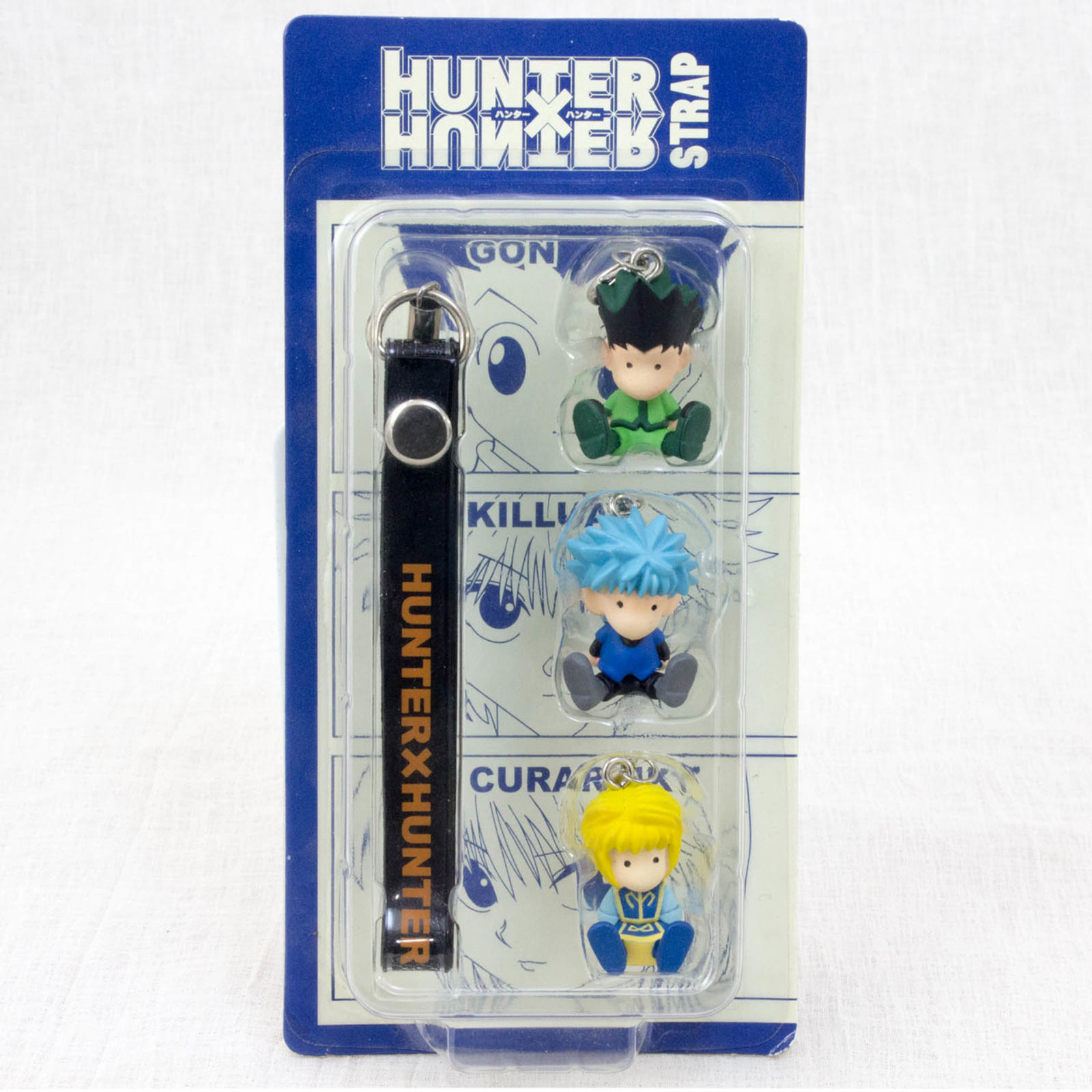 HUNTER x HUNTER Figure Strap Shonen Jump [Gon / Killua / Kurapika] JAPAN ANIME MANGA