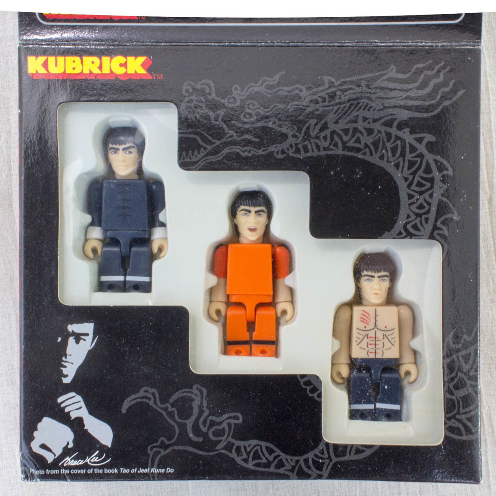 BRUCE LEE Kubrick figure set Medicom Toy JAPAN KUNG FU MOVIE