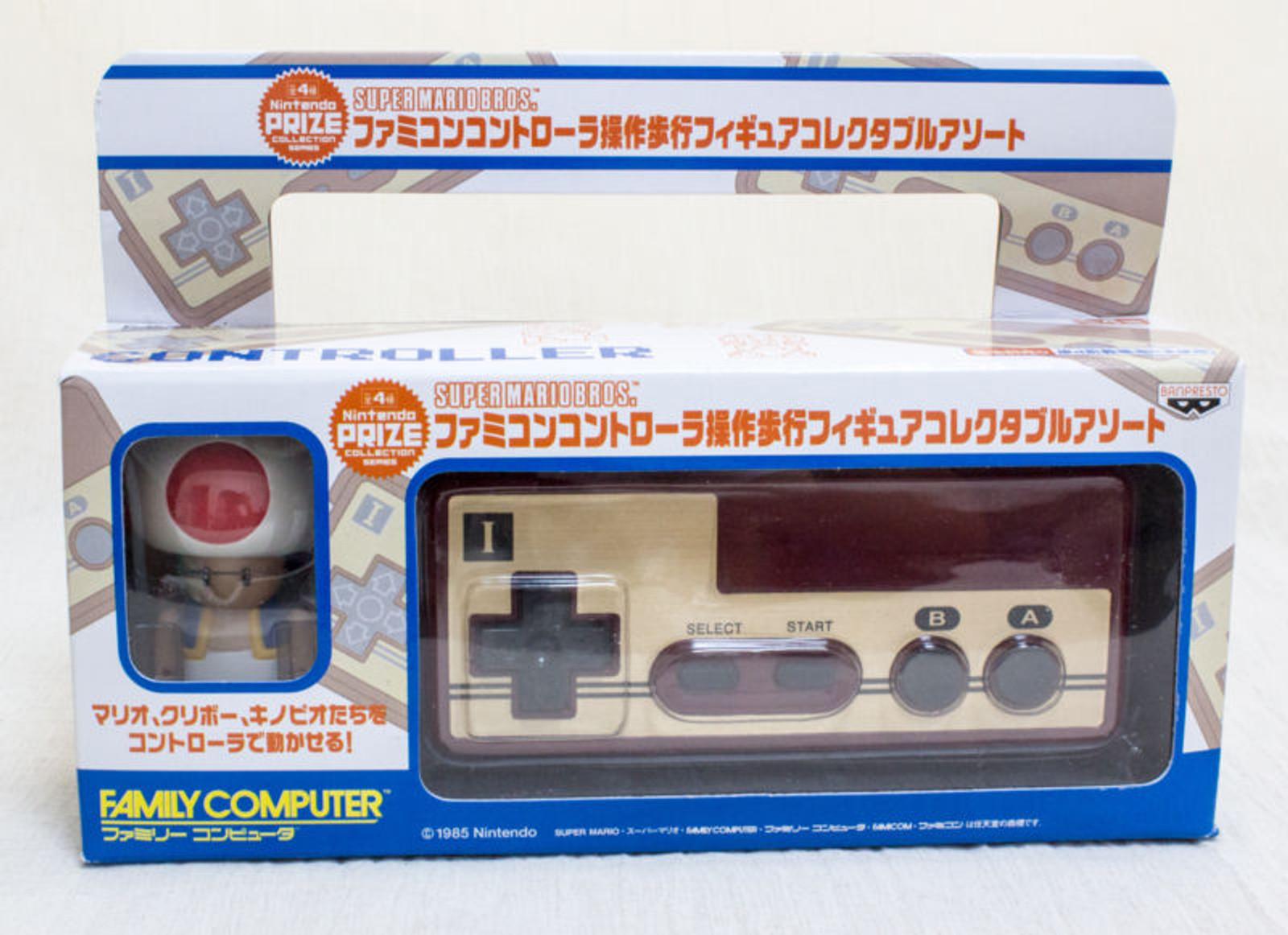 Nintendo Famicom Controller Walking Figure Kinopio Toad Ver. NES SUPER MARIO