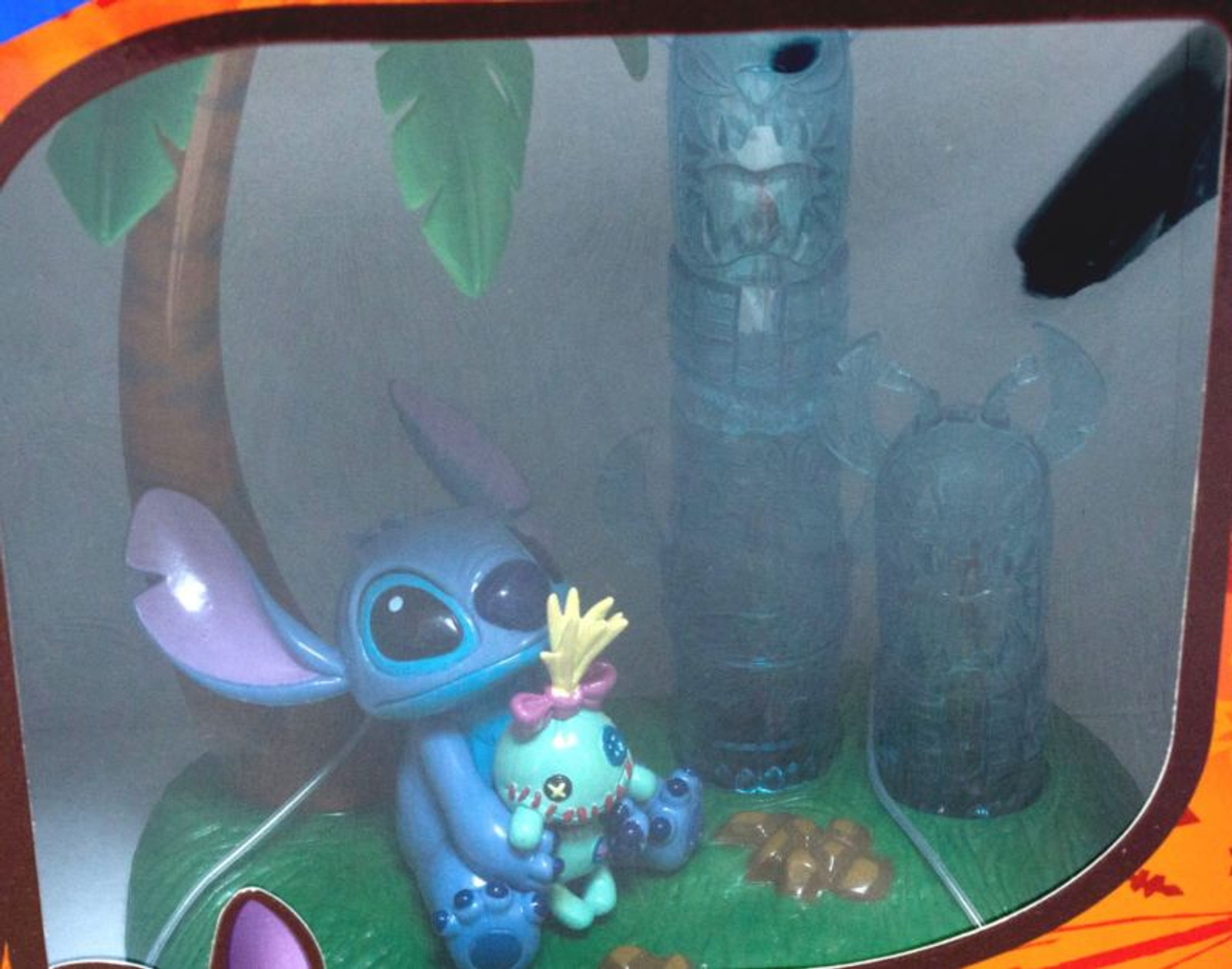Disney Stitch Mascot Figure Totem pole Light SEGA JAPAN ANIME