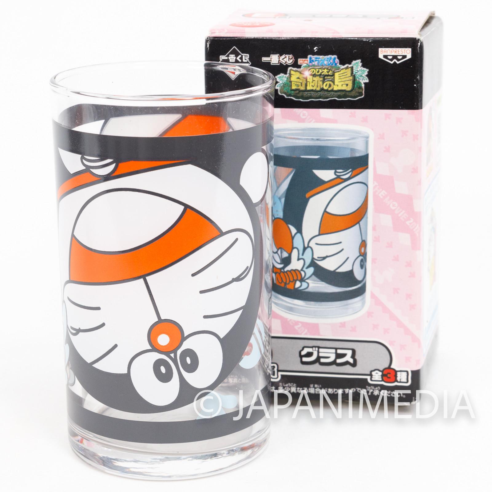 Doraemon The Movie 2012 Visual Art Glass Banpresto JAPAN ANIME MANGA FUJIO