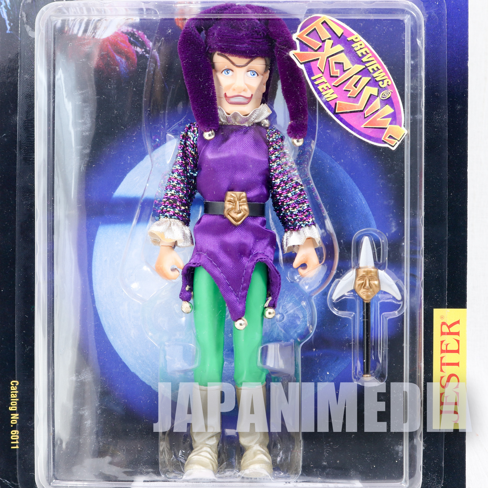 PUPPET MASTER Carse of Jester Purple Figure Preview Exclusive Full Moon Toys