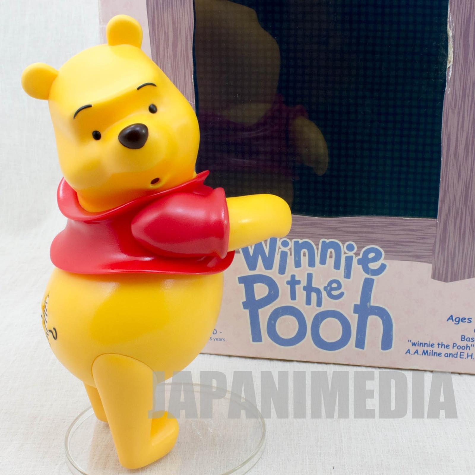 Disney Winnie The Pooh Figure VCD Vinyl Collectible Dolls Medicom Toy JAPAN