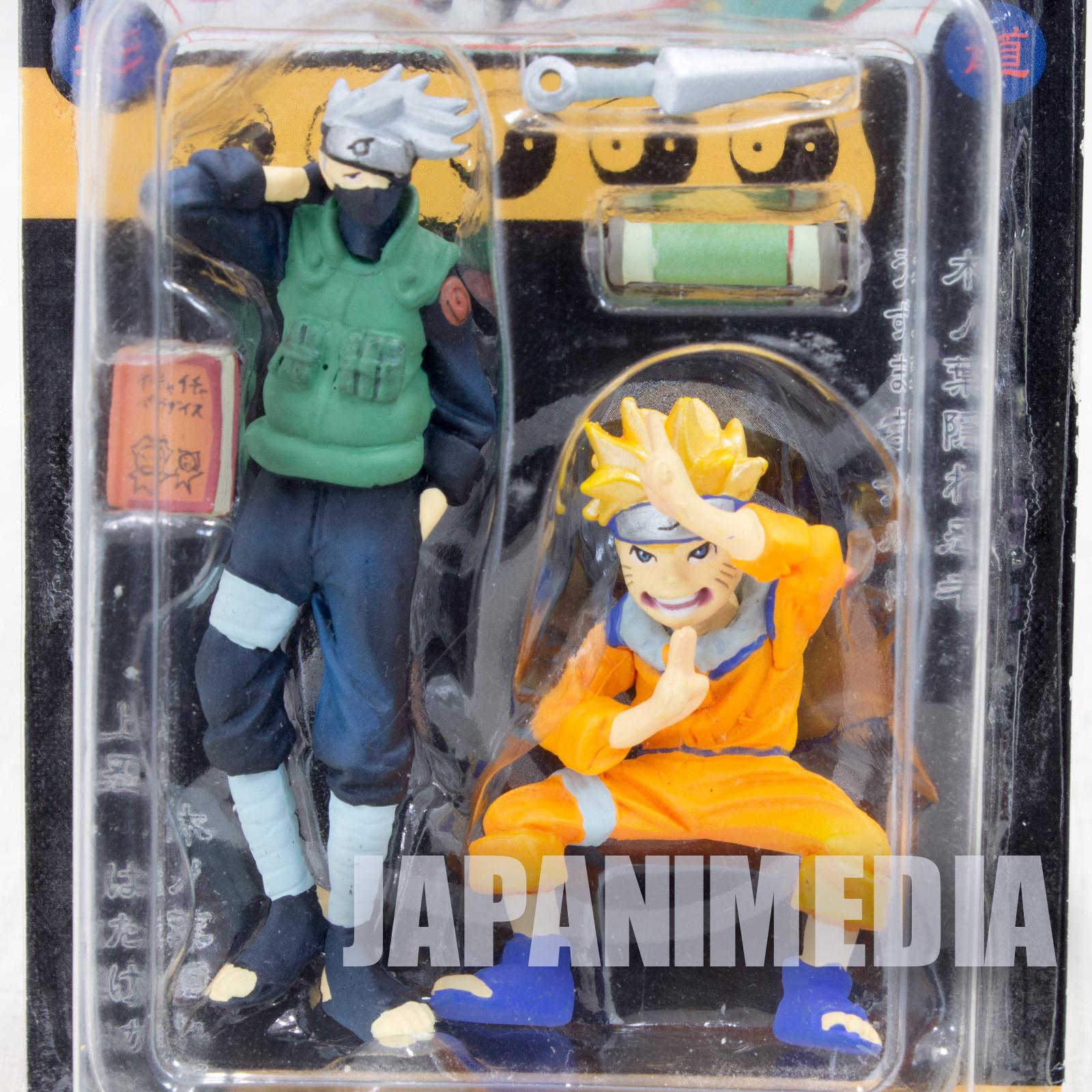 NARUTO Naruto + Kakashi Hatake Figure Weekly Shonen Jump Original Figure Set JAPAN ANIME MANGA