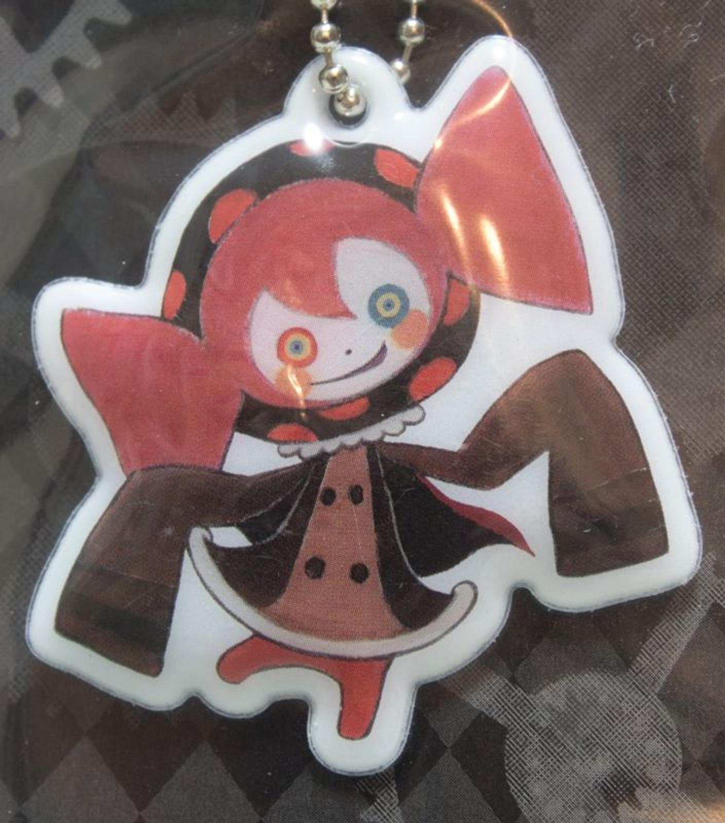 Puella Magi Madoka Magica Sweet Witch Ball Chain Keyholder Lawson Limited JAPAN