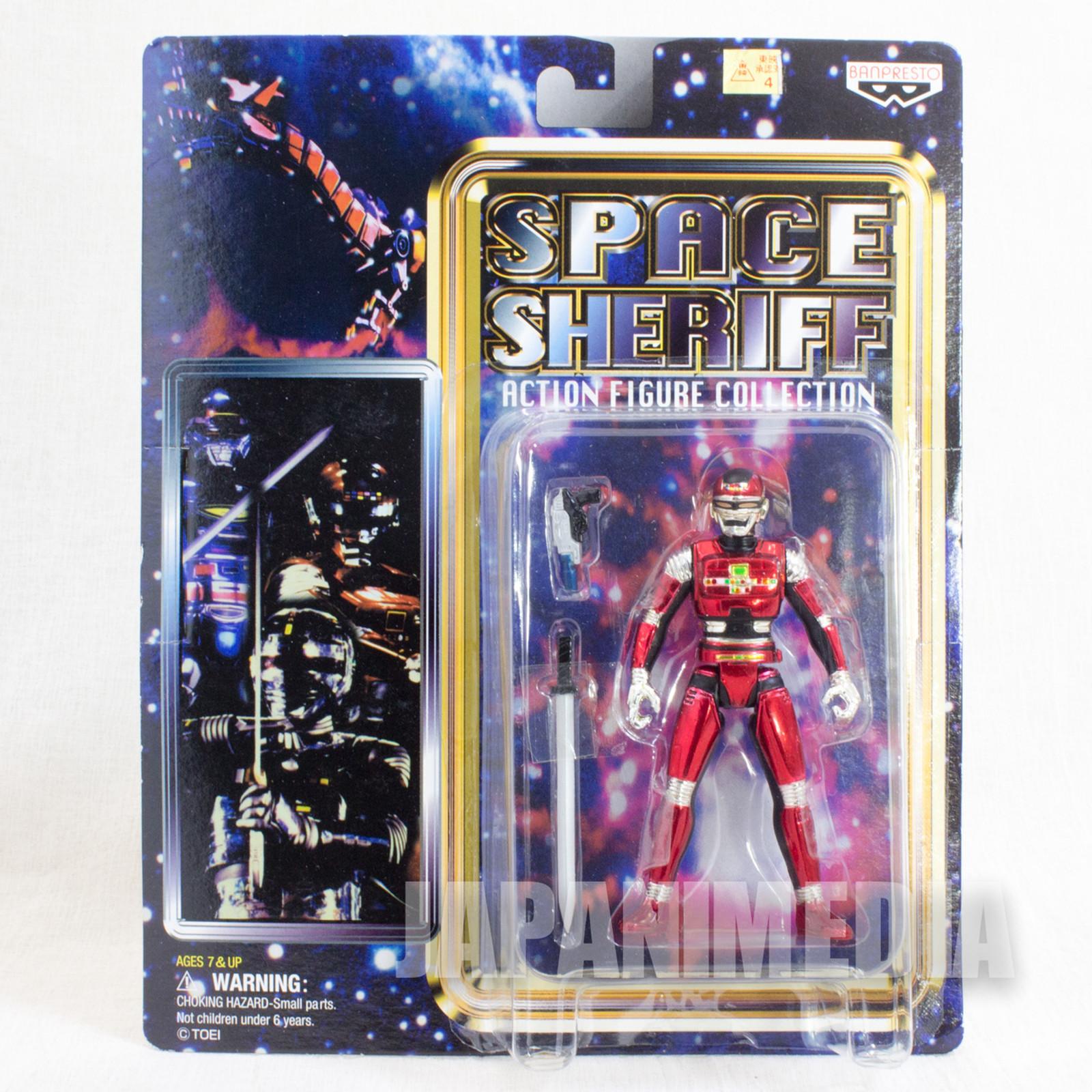 Space Sheriff Sharivan Toei Hero Action Figure Collection JAPAN ANIME TOKUSATSU