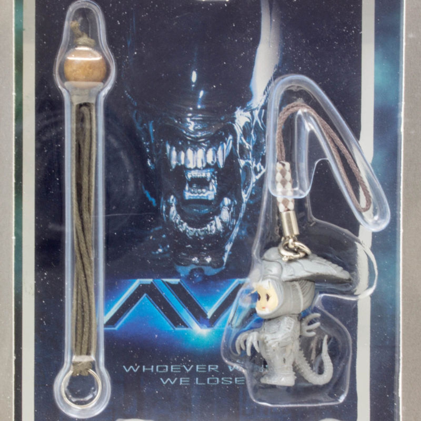 RARE! Alien vs. Predator Rose O'neill Kewpie Kewsion Strap Set JAPAN ANIME