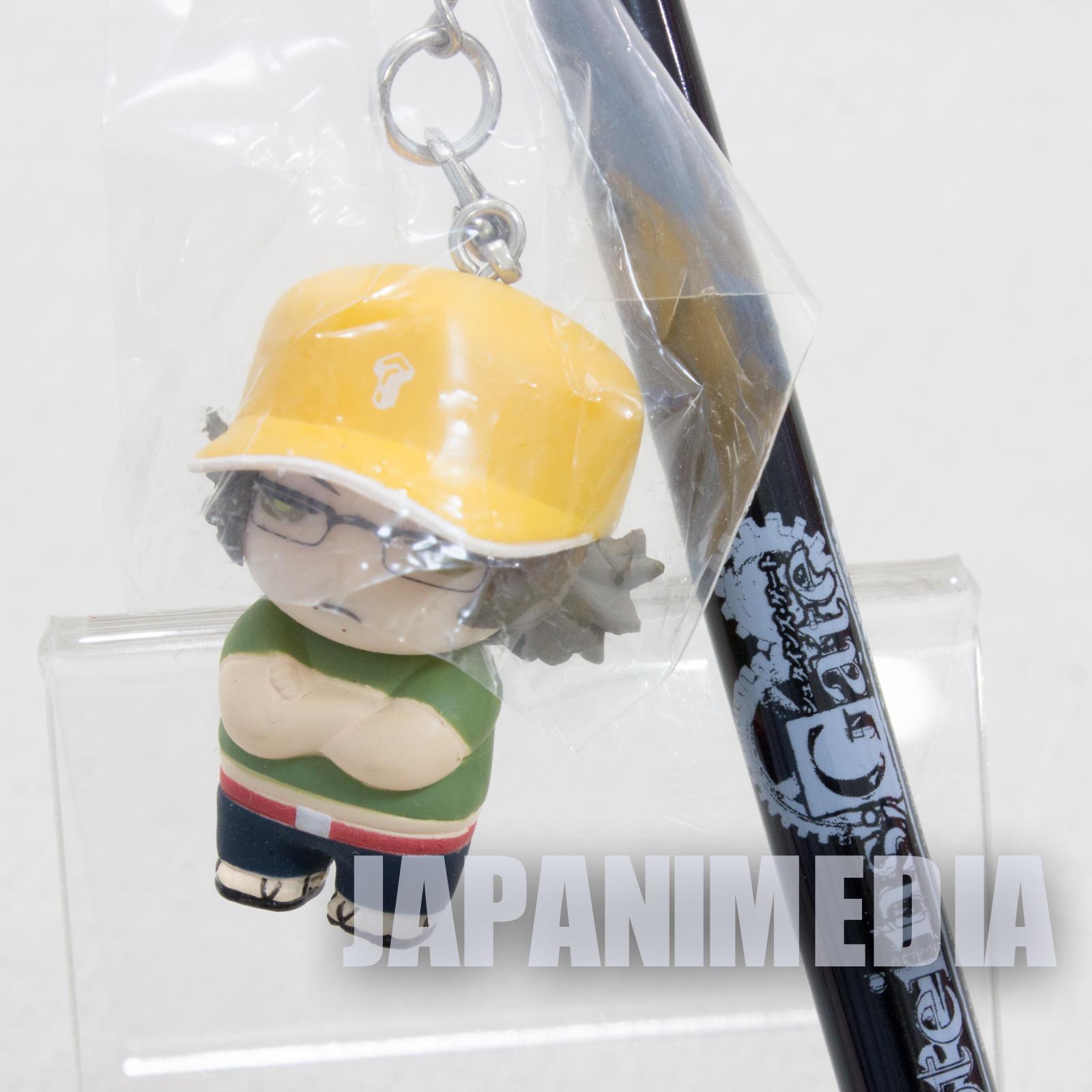 Steins ; Gate Daru Itaru Hashida Normal Ver. Mini Figure Ball Point Pen JAPAN ANIME
