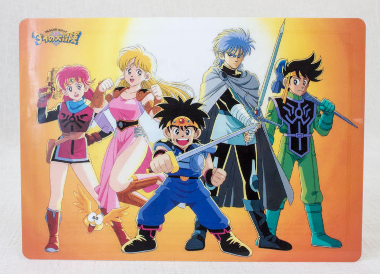 Dragon Quest: The Adventure of Dai Plastic Pencil Board Pad Shitajiki Dragon Quest JAPAN