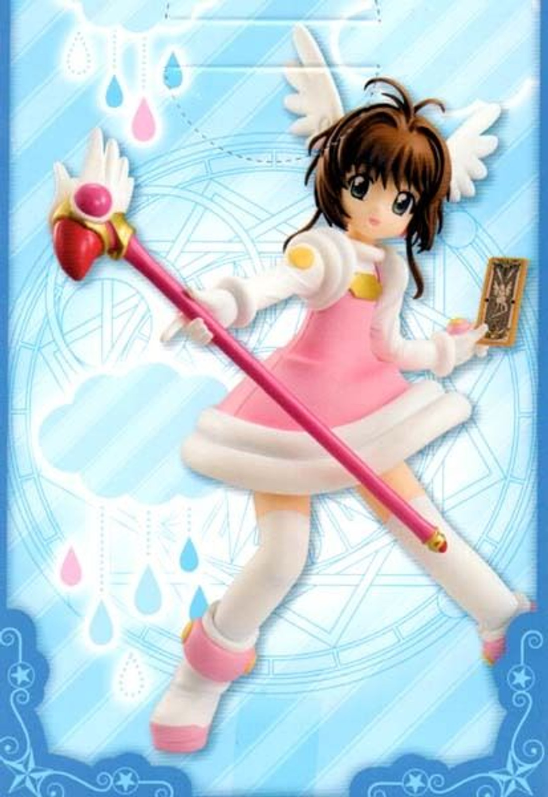 Cardcaptor Sakura Special Figure Series Cheerful Pink CLAMP Furyu JAPAN ANIME