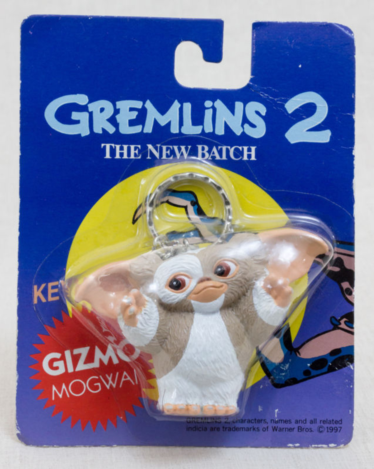 Gremlins 2 The New Batch Gizmo Figure Key Chain Jun Planning JAPAN