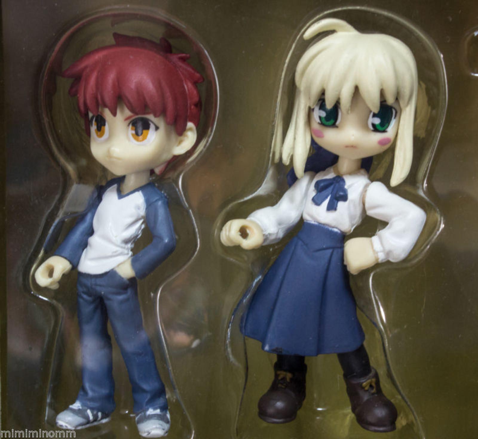 Fate/stay night Palm Scenery Saber & Siro Figure Weapon Set JAPAN ANIME
