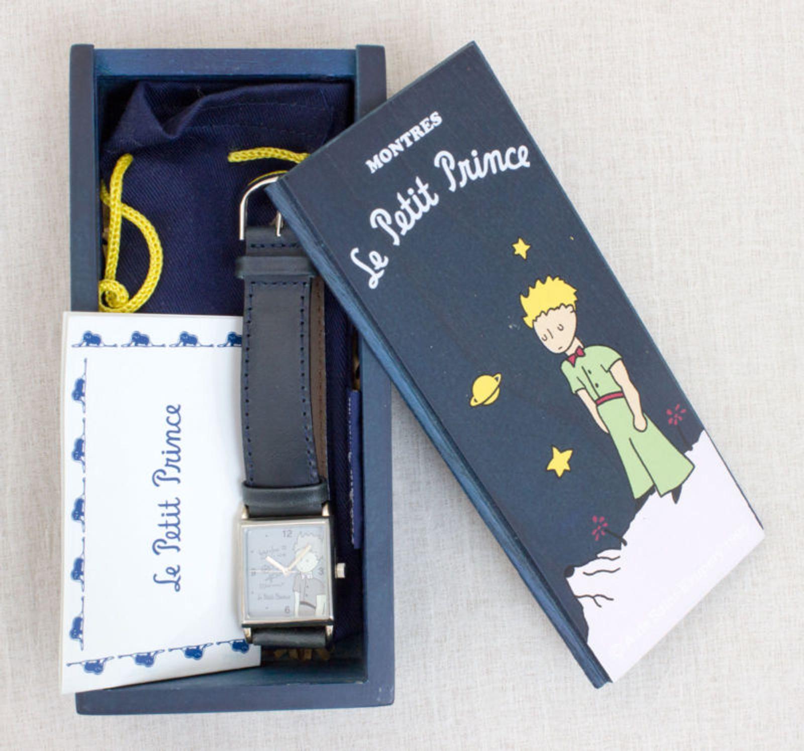 La Petit Prince Wrist Watch Montres & Wooden Case Saint Exupery 1995
