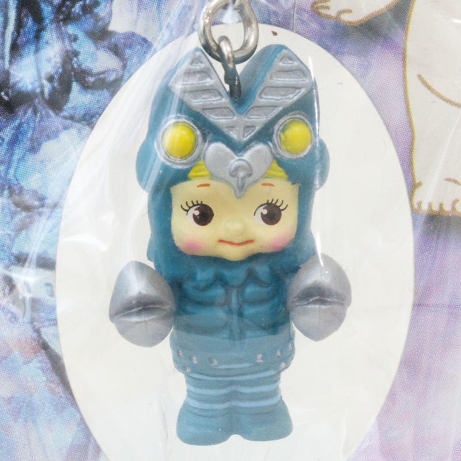 Ultraman Alien Baltan Rose O'neill Kewpie Kewsion Figure Strap JAPAN ANIME