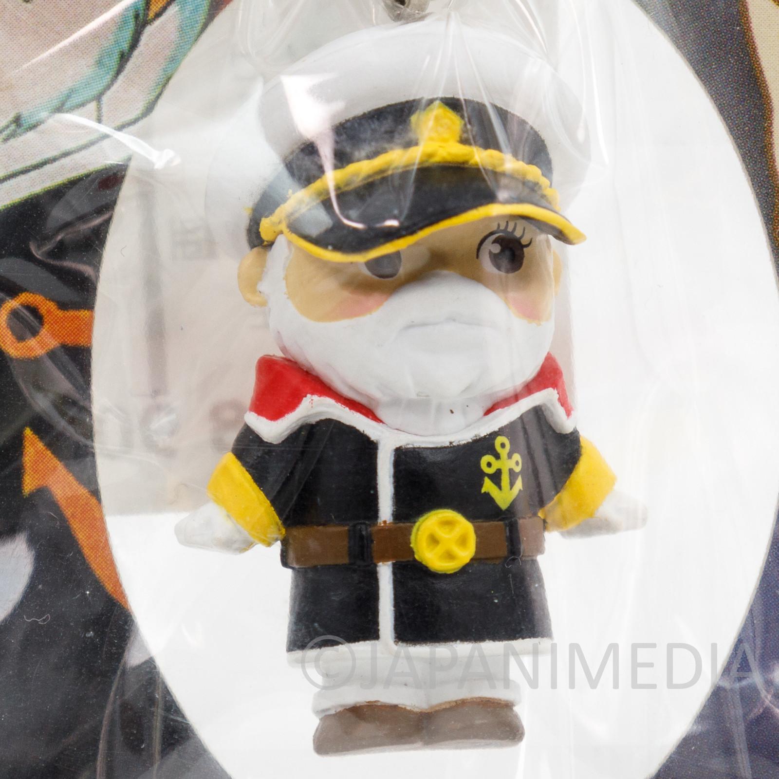 Space Battleship YAMATO Captain Okita Rose O'neill Kewpie Kewsion Strap JAPAN