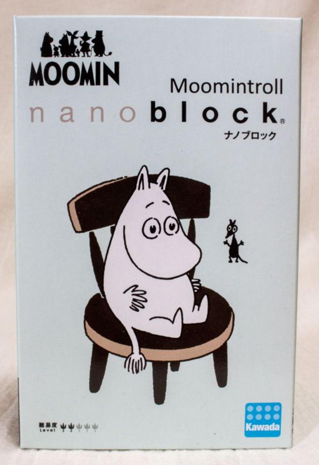 Moomin Troll Kawada Nanoblock Nano Block MOM-043 JAPAN