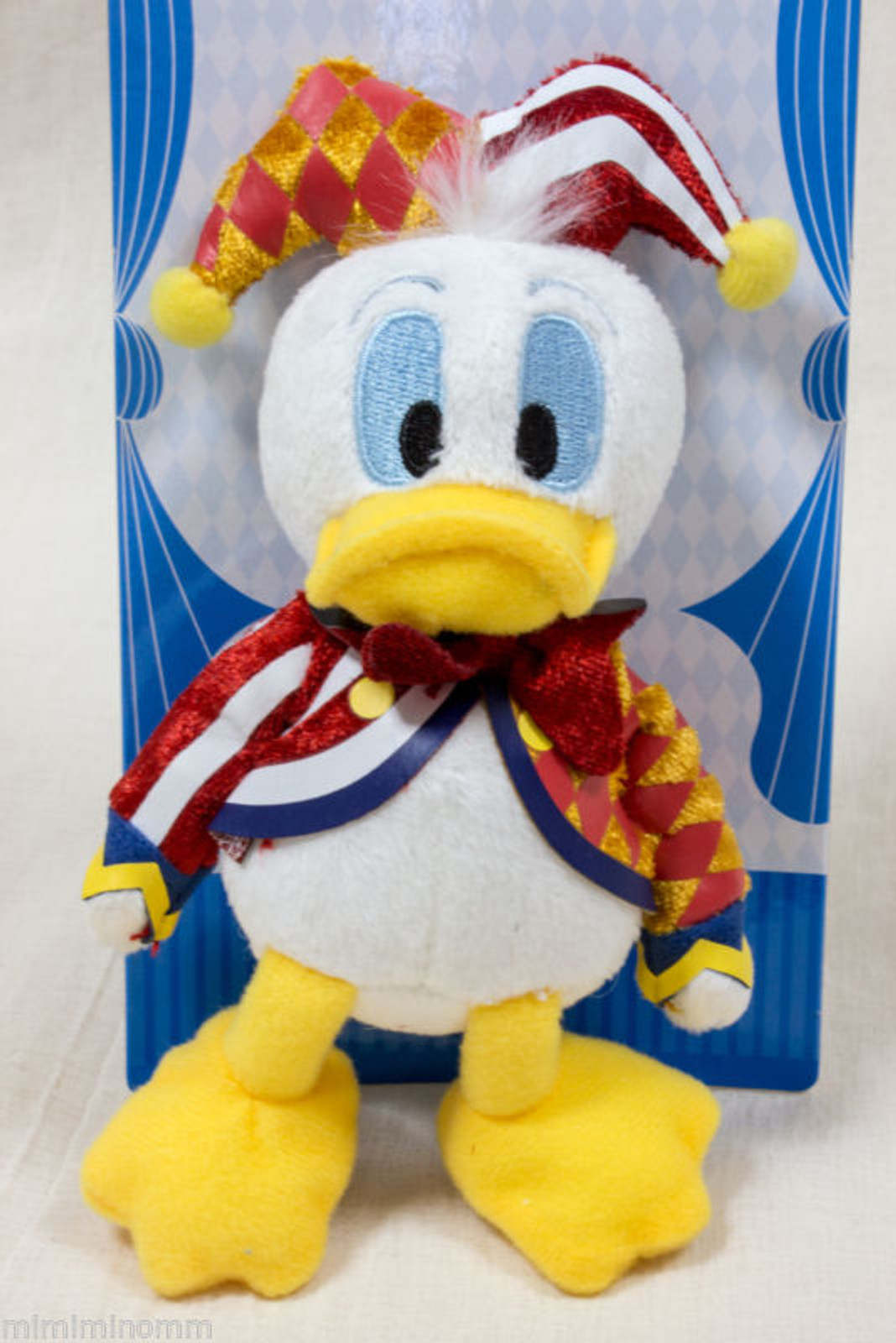 "Disney Donald Duck 6"" Plush doll Keycain Mascot Figure Halloween Circus JAPAN"