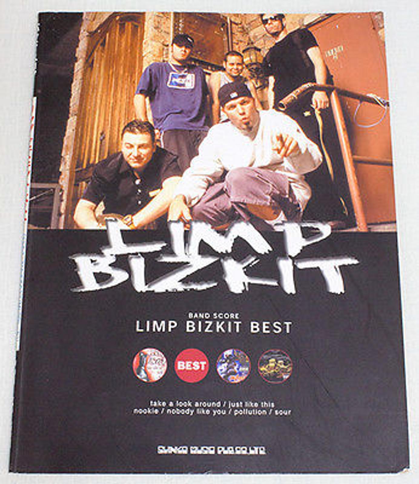 Limp Bizkit Best Band Score JAPAN with Guitar&Bass TAB