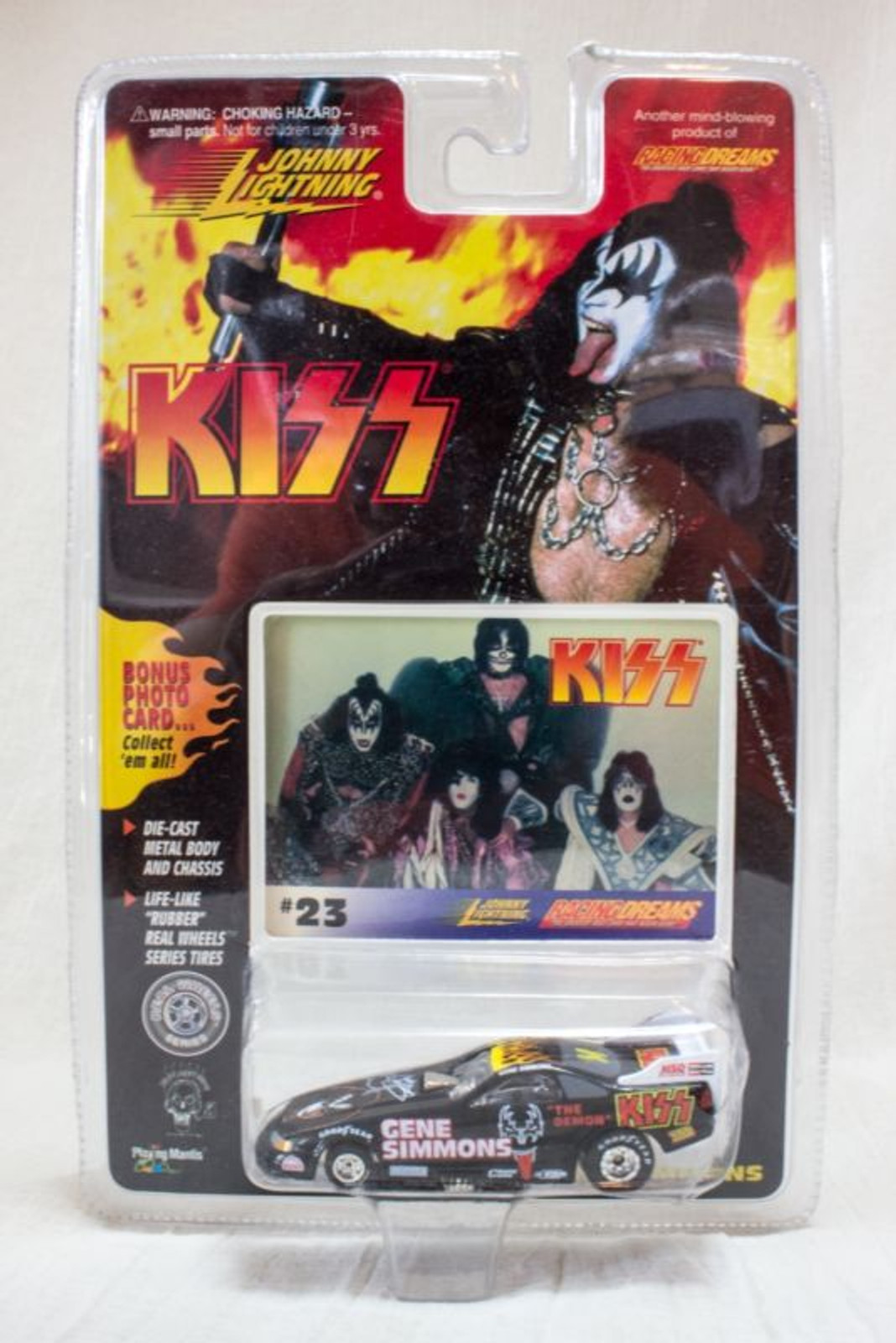 KISS Johnny Lightning Racing Dreams #23 GENE SIMMONS