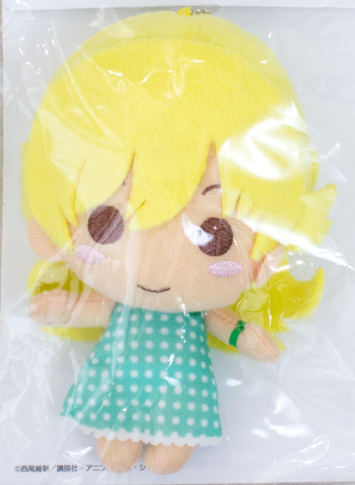 Bakemonogatari Shinobu Oshino Plush Doll Figure w/Ball Chain JAPAN ANIME TSUKI