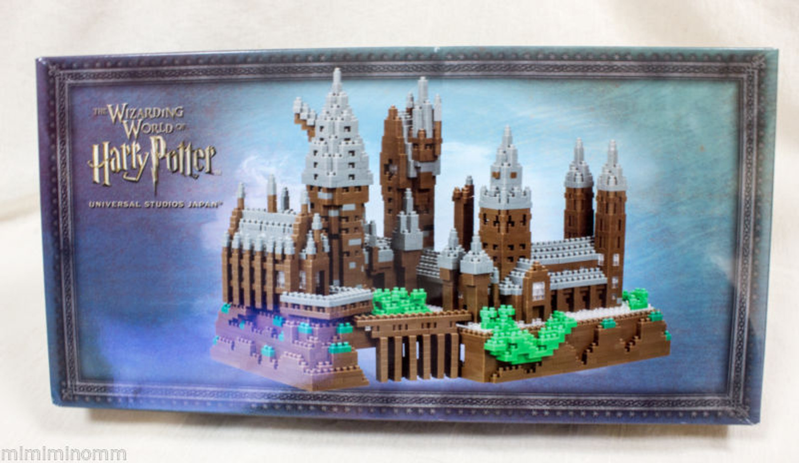 Harry Potter USJ Hogwarts Castle Nanoblock Kawada Limited JAPAN FIGURE