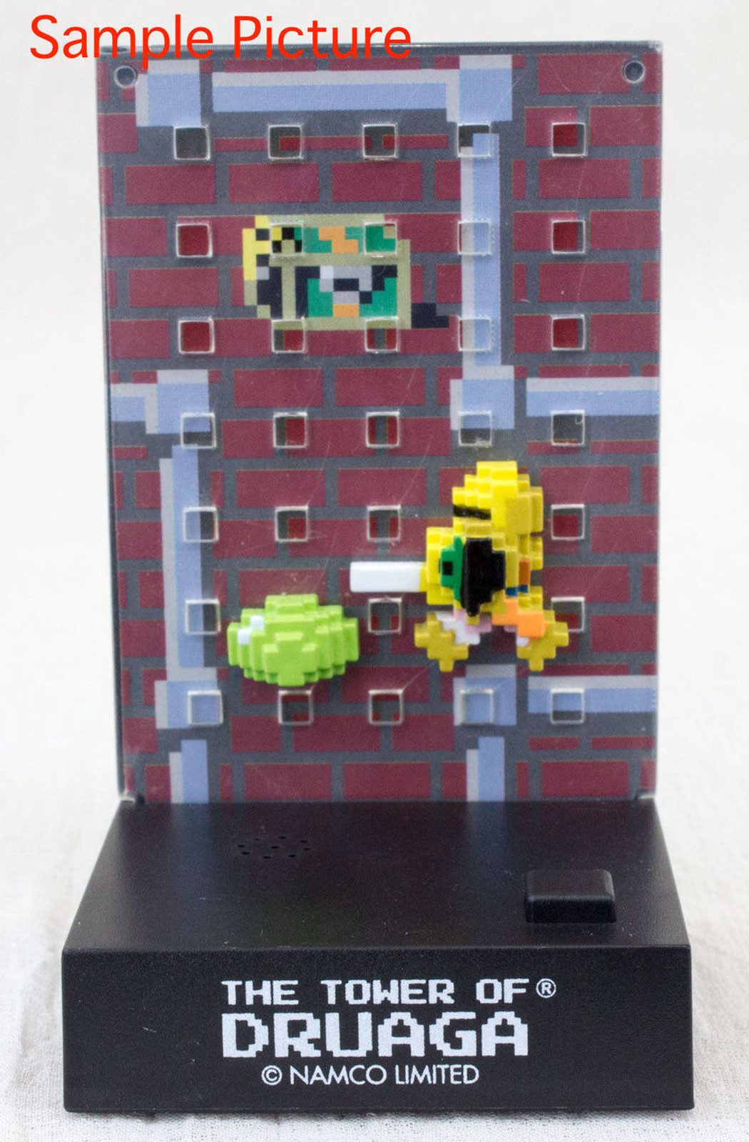 Namco Dotgraphics Tower of Druaga Figure with Game Sound JAPAN FAMICOM