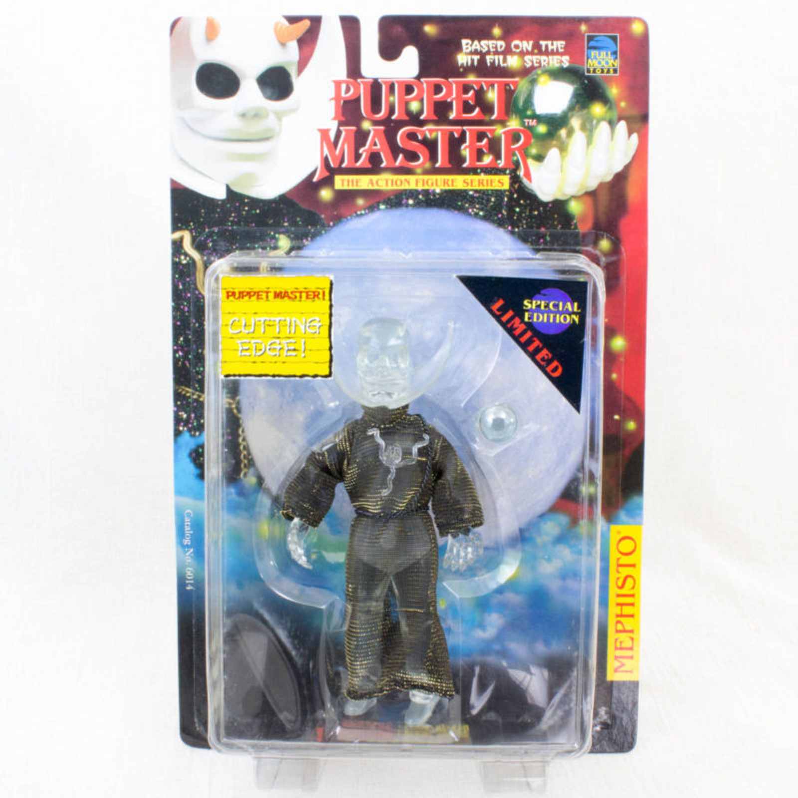 PUPPET MASTER Mephisto Figure Clear Limited Special Edition Full Moon Toys