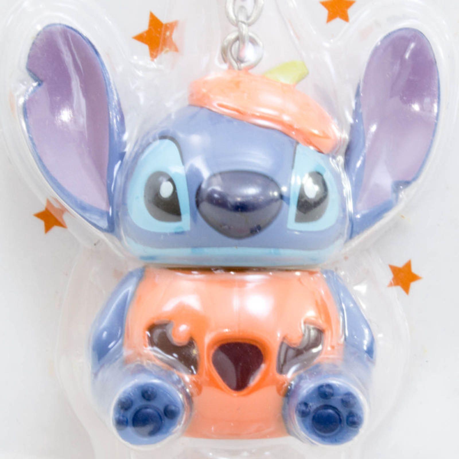 Disney Stitch Halloween Ver. Mascot Figure Light Key Chain Sanrio JAPAN ANIME