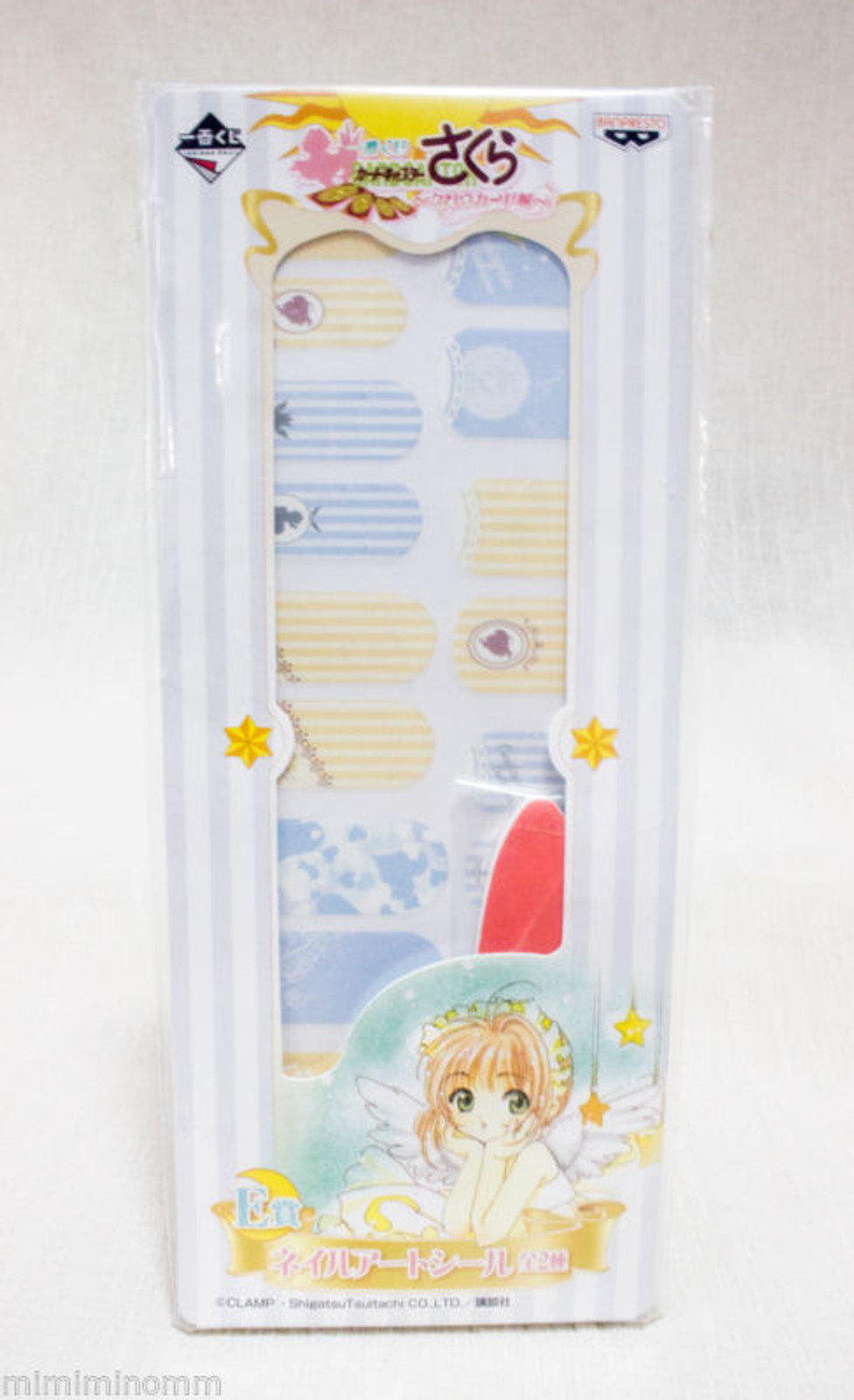 Cardcaptor Sakura Nail Art Sticker Set CLAMP Banpresto JAPAN ANIME MANGA