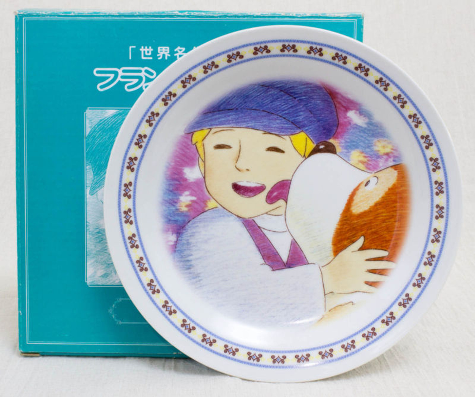 A Dog of Flanders Picture Plate Spring Ver. JAPAN ANIME MANGA