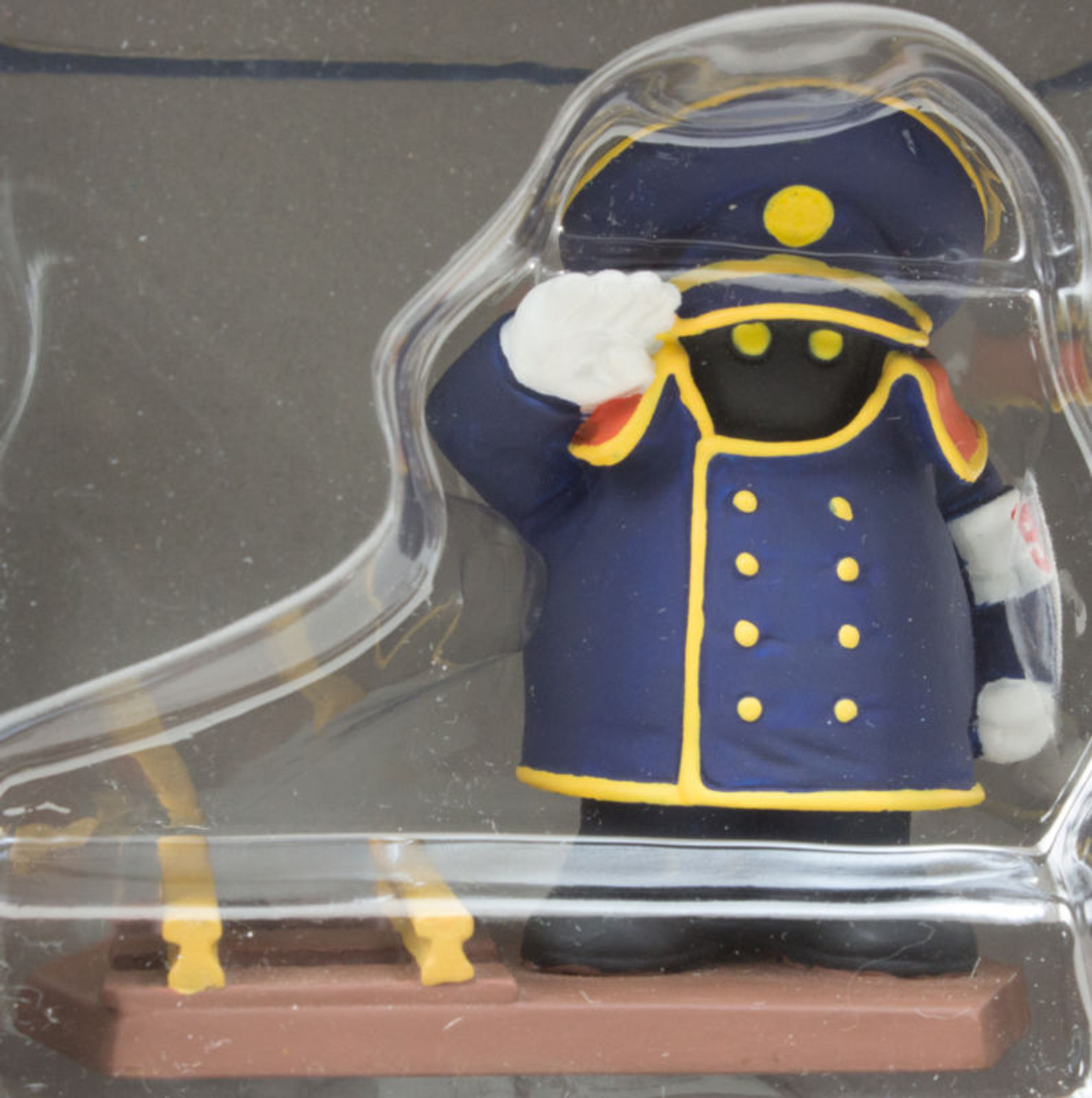 Galaxy Express 999 Conductor Polystone Figure Banpresto JAPAN ANIME