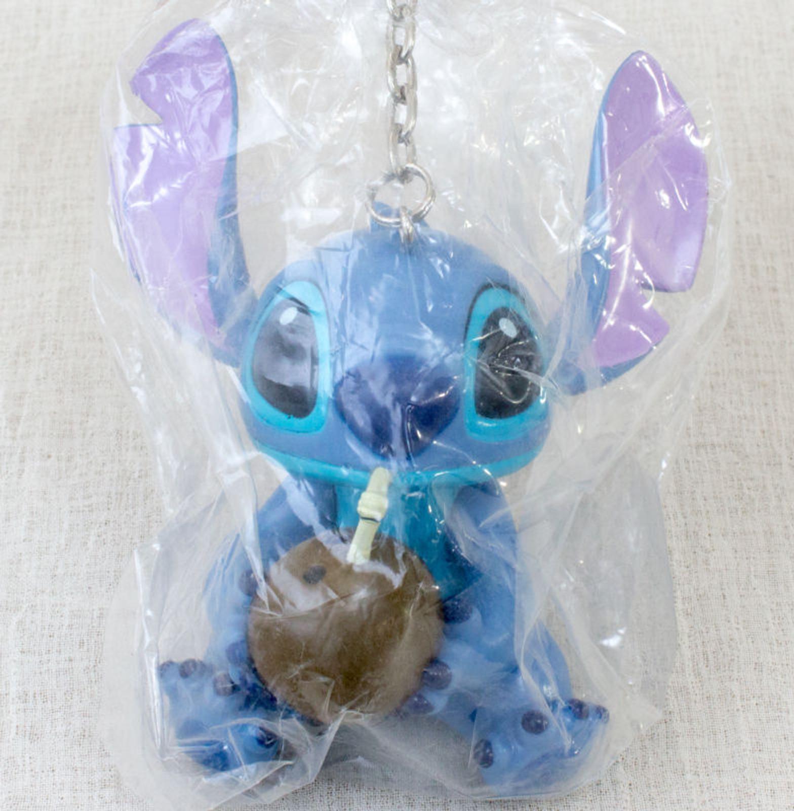 Disney Stitch Big Size Mascot Figure Key Chain SEGA JAPAN ANIME
