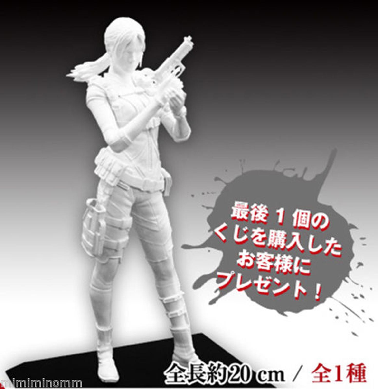 RESIDENT EVIL Biohazard Jill Valentine Levelations Enamel White Capcom Figure Builder JAPAN