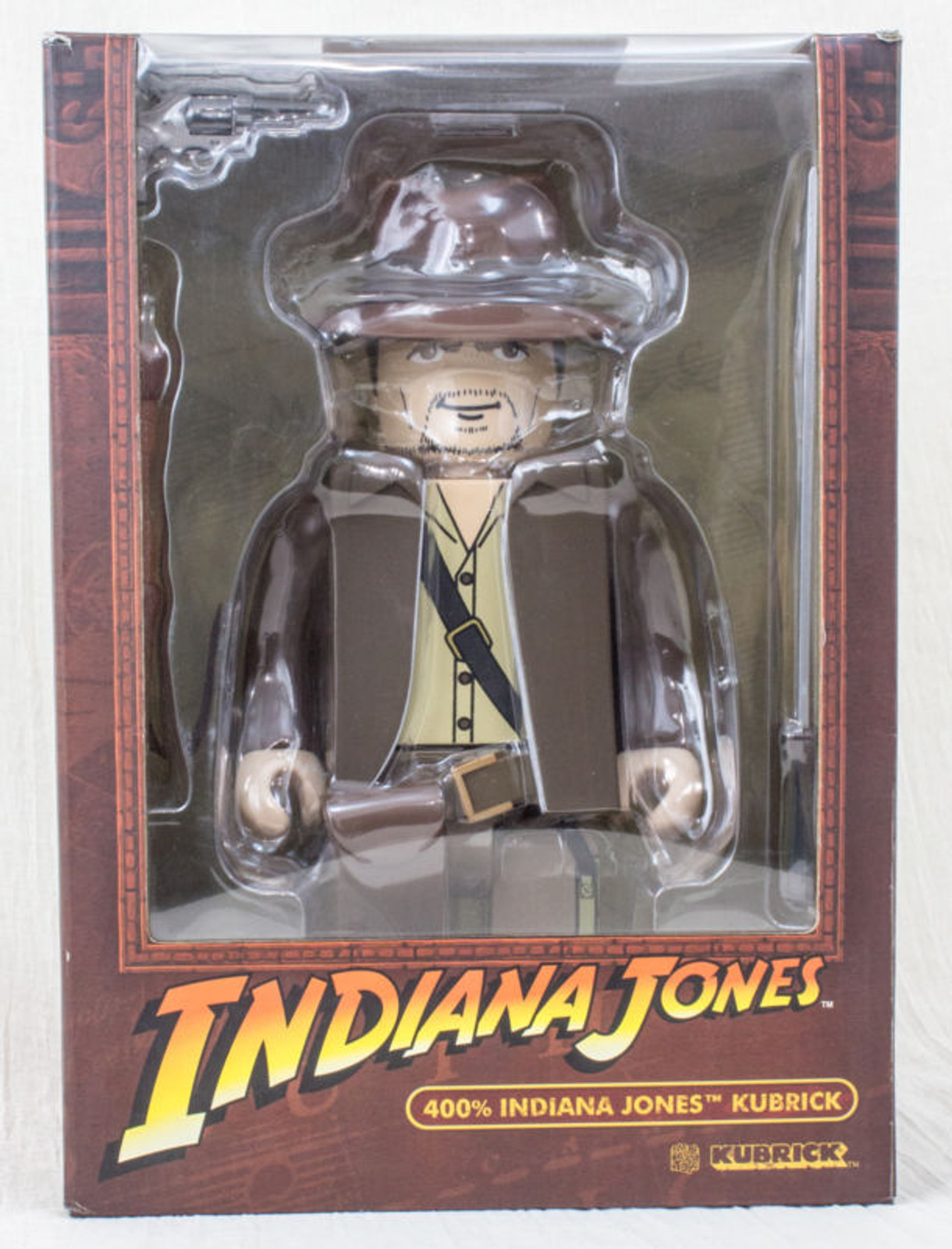 Kubrick Indiana Jones as Harrison Ford 400% Model Figure Medicom Toy JAPAN