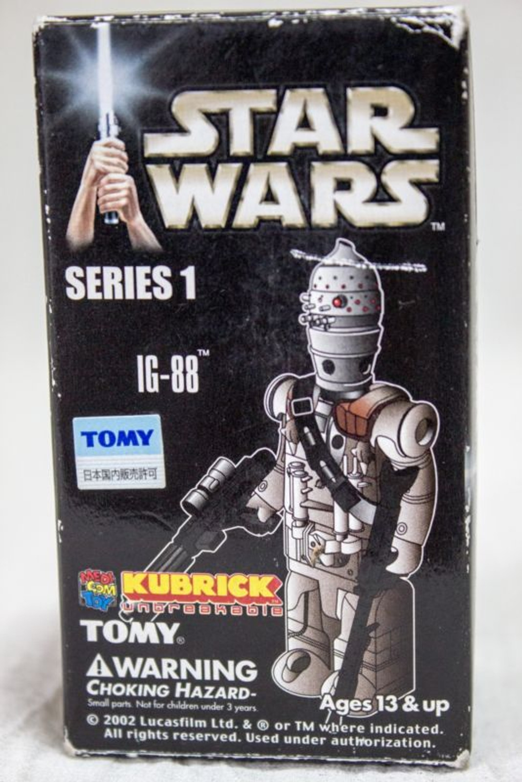 STAR WARS Series 1 IG-88 Kubrick Medicom Toy JAPAN