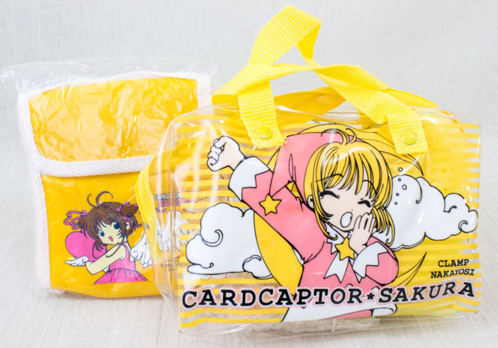 Cardcaptor Sakura Mini Bag Pouch Toiletries Goods Towel CLAMP JAPAN ANIME MANGA