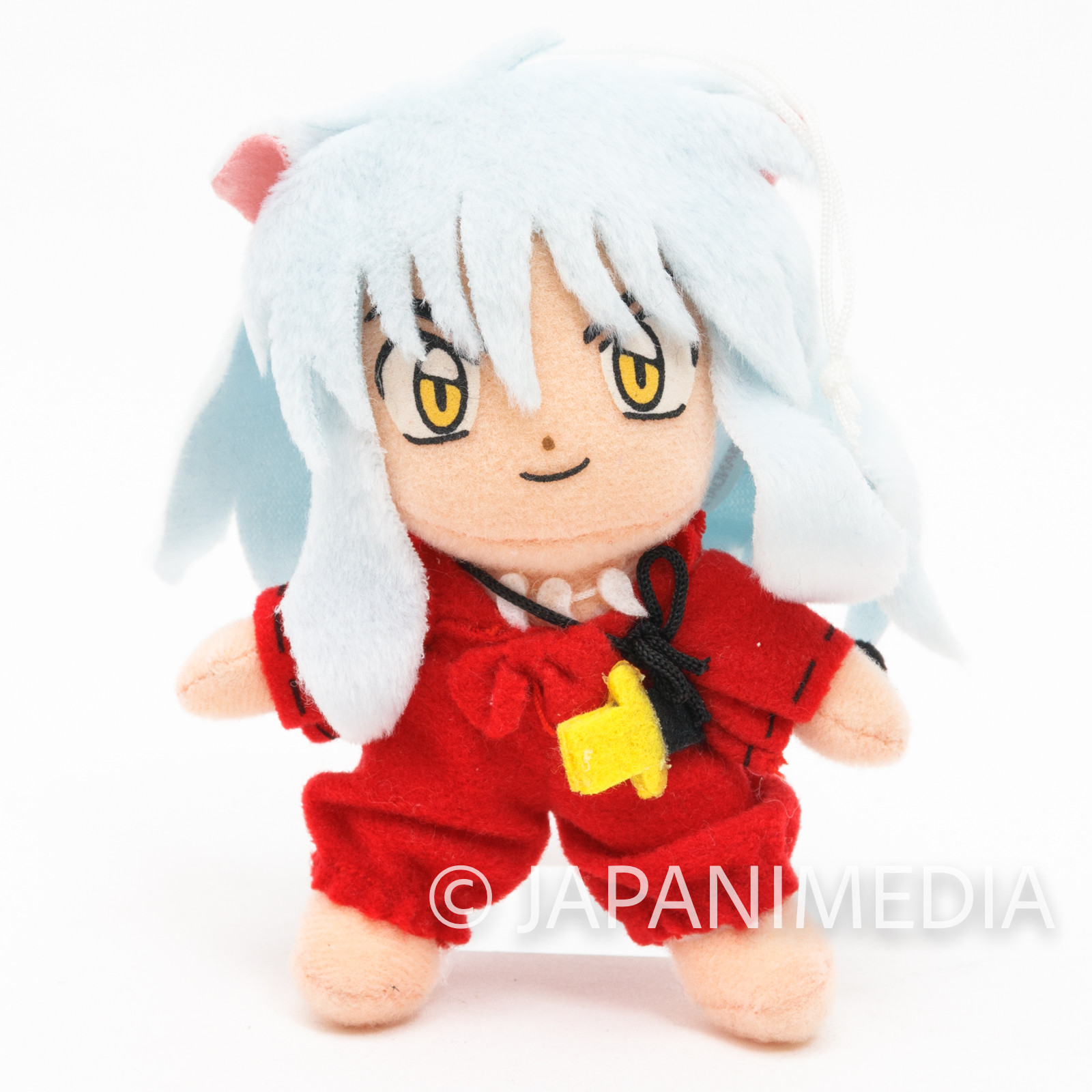 "RARE!! InuYasha 4"" Mini Plush Doll Figure Inuyasha JAPAN ANIME MANGA [No box]"