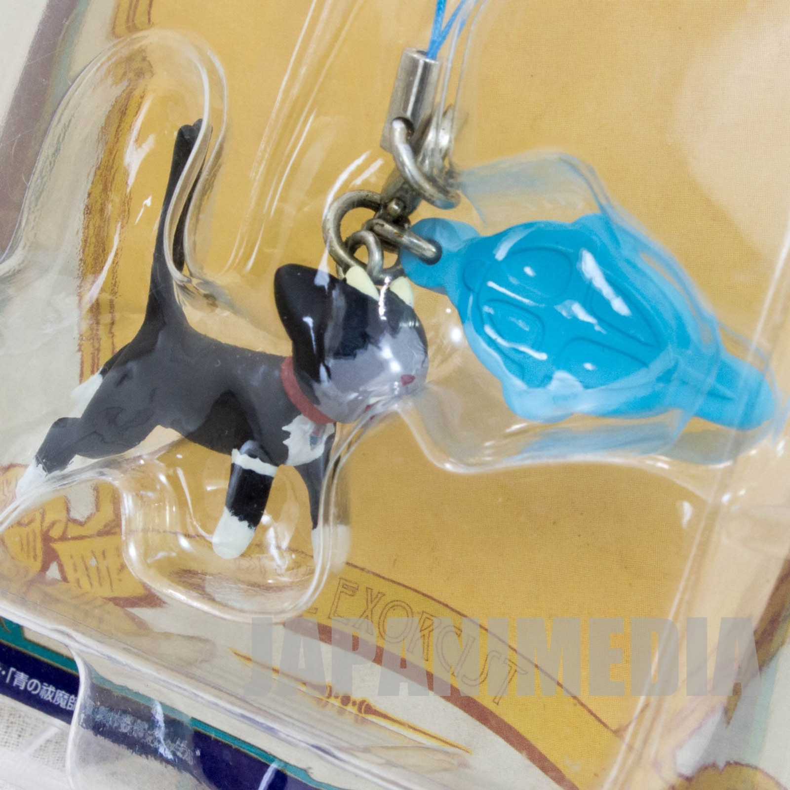 Blue Exorcist Kuro Mascot Figure Strap Banpresto JAPAN ANIME MANGA