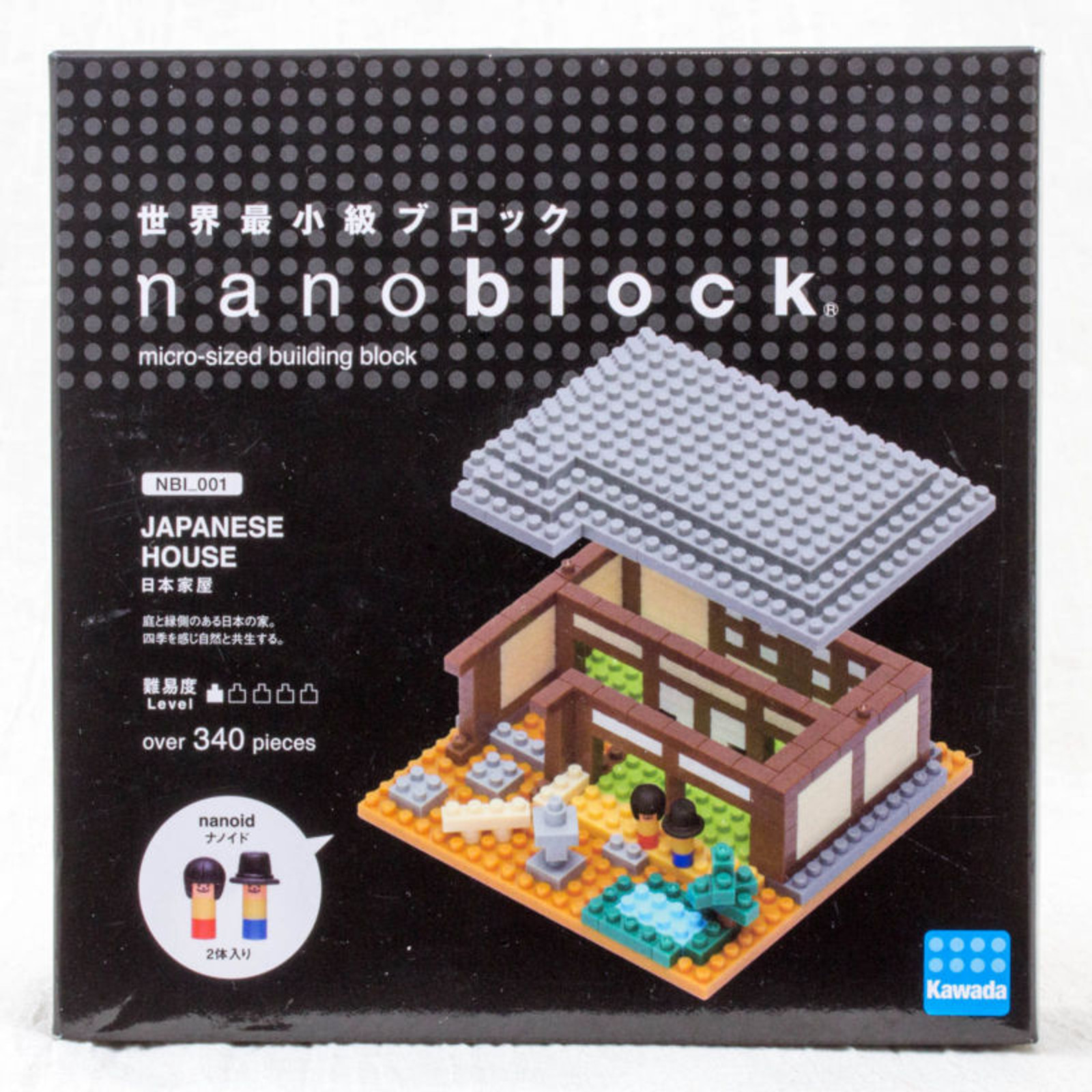 Japanese House Kawada Nanoblock Nano Block NBI-001 JAPAN ANIME MANGA