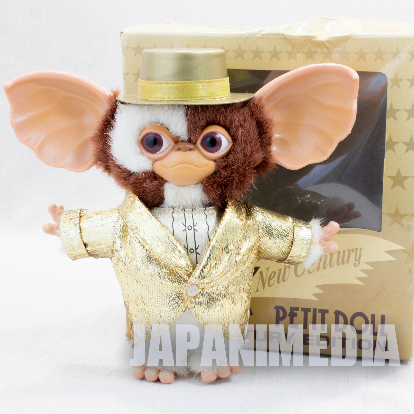 Gremlins GIZMO Bendable Petit Doll Figure New Century Edition JUN Planning JAPAN