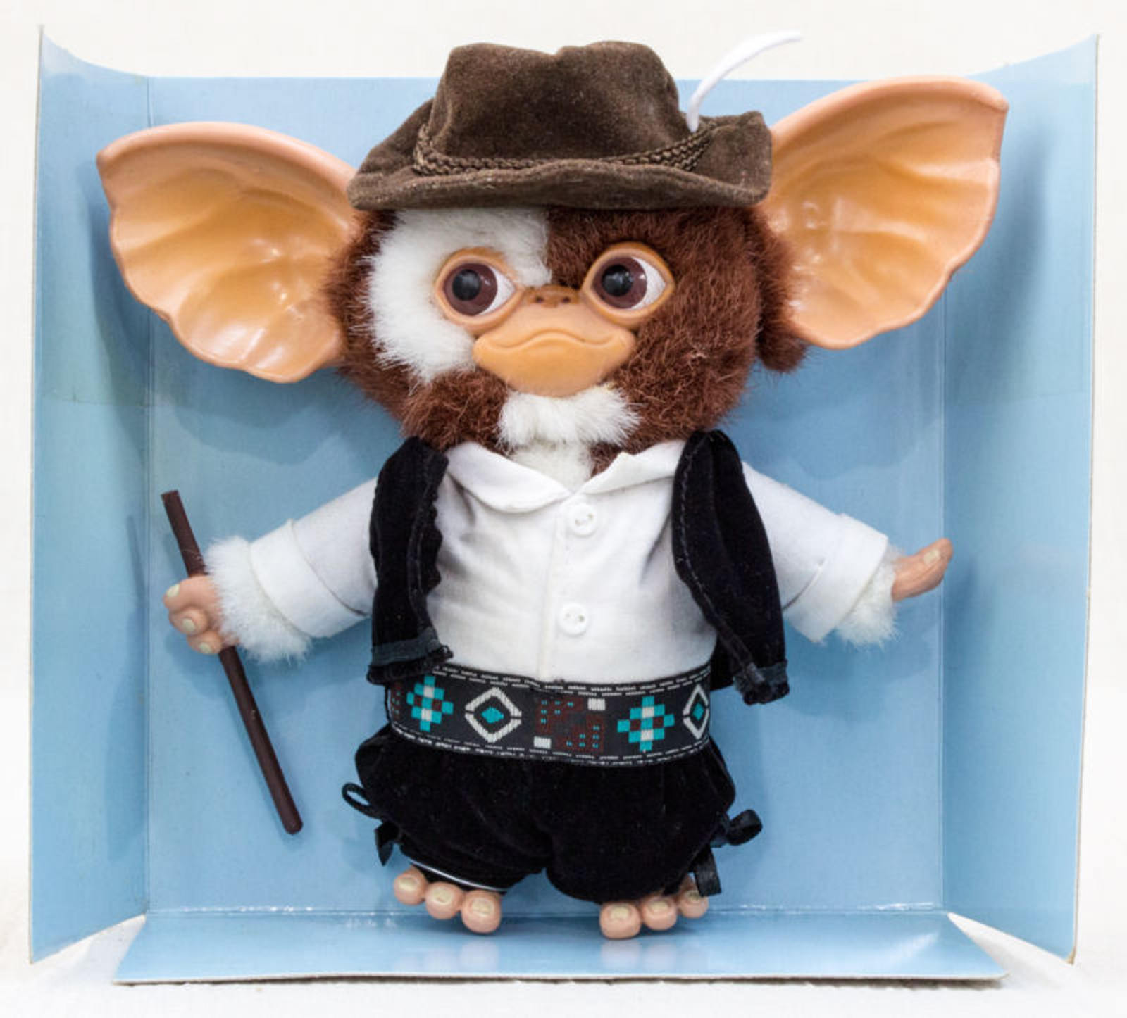 Gremlins GIZMO Bendable Petit Doll Figure Tyrolean JUN Planning JAPAN